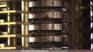 Babbage Difference Engine closeup